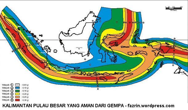 peta gempa Indonesia