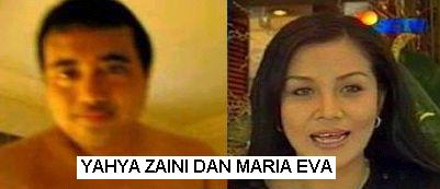 Yahya Zaini dan Maria Eva