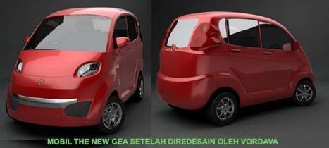 The New GEA Mobil Buatan PT INKA setelah diredesain oleh Vordava