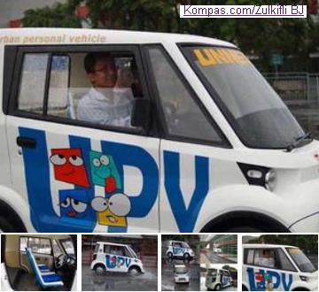 Arina UPV, mobil Indonesia dengan harga Rp 30 juta buatan Semarang