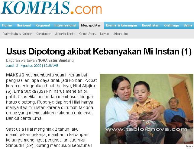 Bahaya Mie Instant: Usus Dipotong dan Kanker | Info Indonesi ...