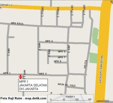 peta Haji Naim