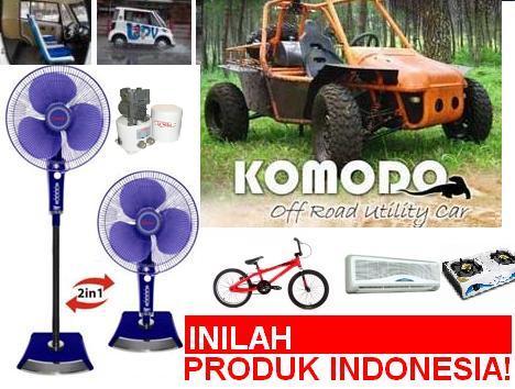 ... indonesia bukan cuma made in tapi juga made by dan owned by indonesia