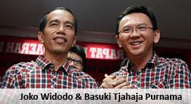Joko Widodo dan Basuki Tjahaja Purnama