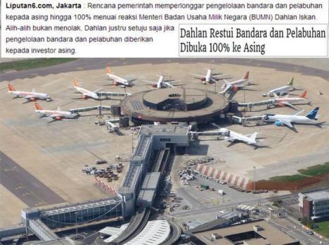 Privatisasi Bandara dan Pelabuhan