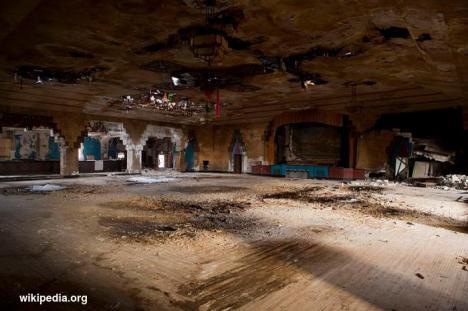 Ruang Pesta yang terlantar di Detroit