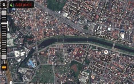 Sebaliknya wilayah di sekitar Banjir Kanal Timur yang biasanya banjir ...