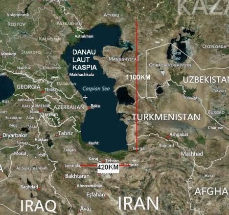 Danau Laut Kaspia