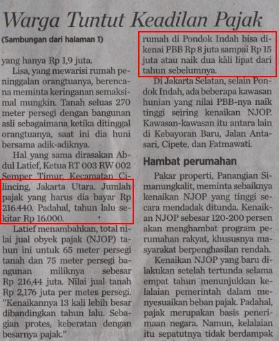 Berita Kompas 22 Maret 2014