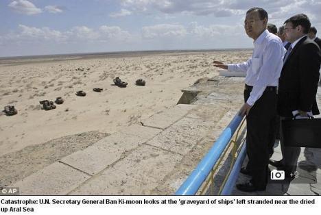 Peta Danau Laut Aral 3