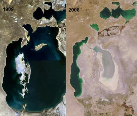 Peta Danau Laut Aral 5