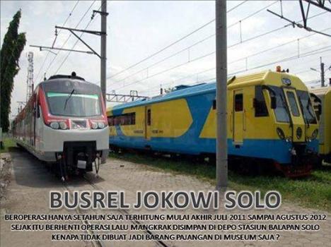 Busrail Mangkrak