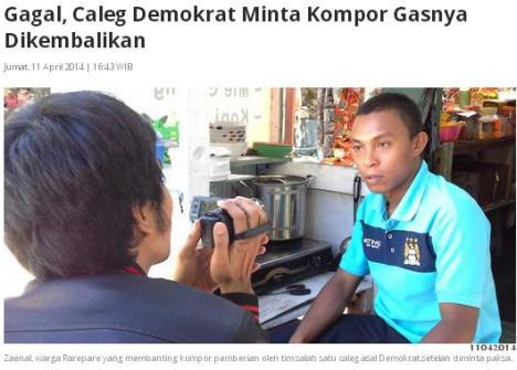 Caleg Gagal