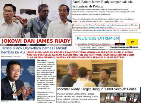 Jokowi dan James Riady