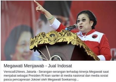 Megawati Menjawab