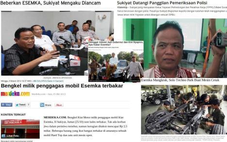Nasib H Sukiyat dan Mobil Esemka