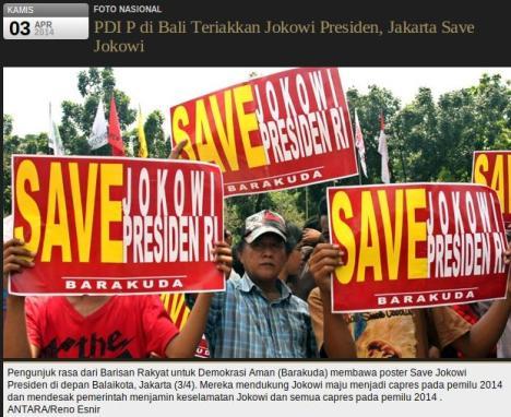 Save Jokowi