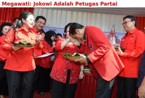 Jokowi Petugas Partai 2
