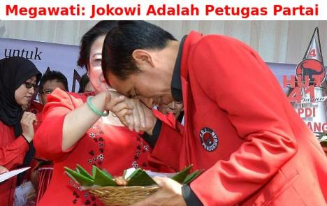 Jokowi Petugas Partai