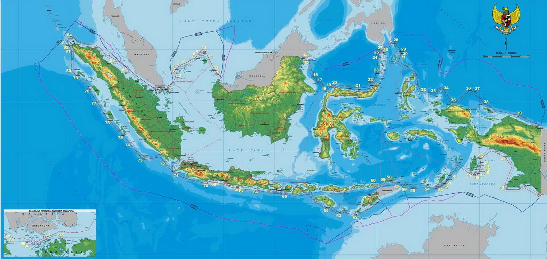 Peta Indonesia Info Indonesia