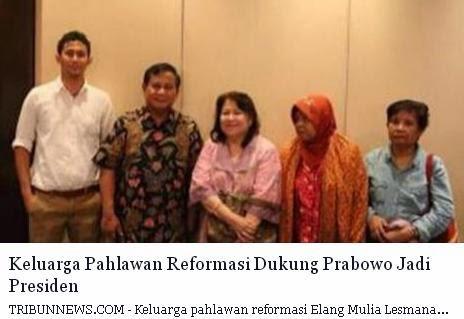 Prabowo Korban Semanggi