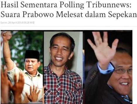 Prabowo Naik