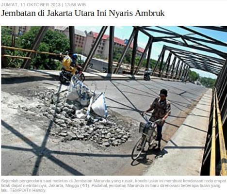 Jembatan Jakarta Utara