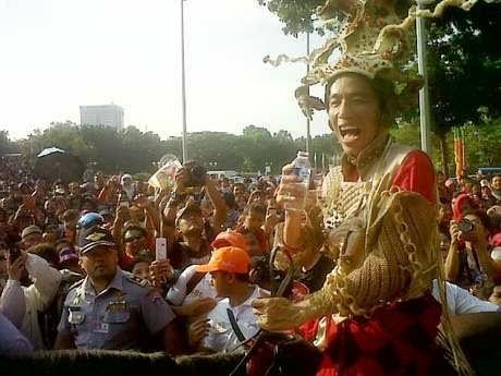 Jokowi Kuda haus