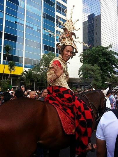 Jokowi kuda