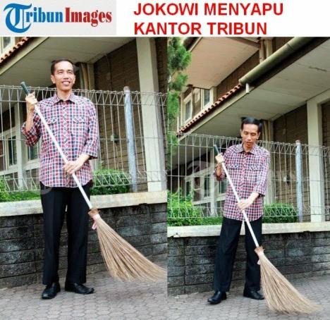 Jokowi Menyapu2