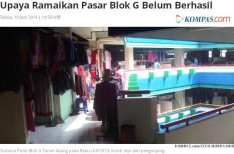 Jokowi Pasar Tanah Abang 2