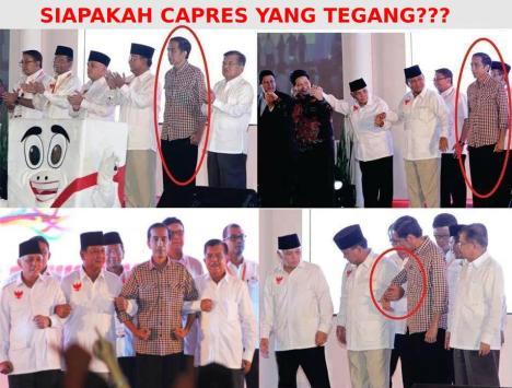 Jokowi Tegang
