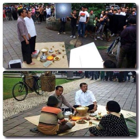 Jokowi: Sederhana atau Sandiwara?