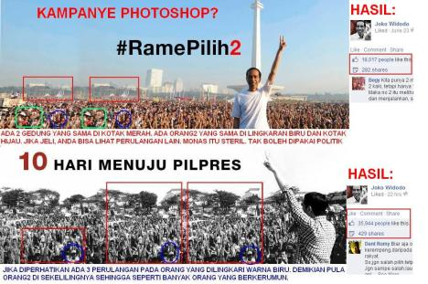 Photoshopped Jokowi gab