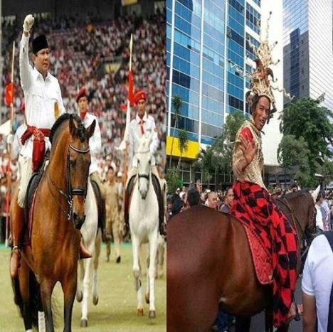 Prabowo Jokowi Kuda