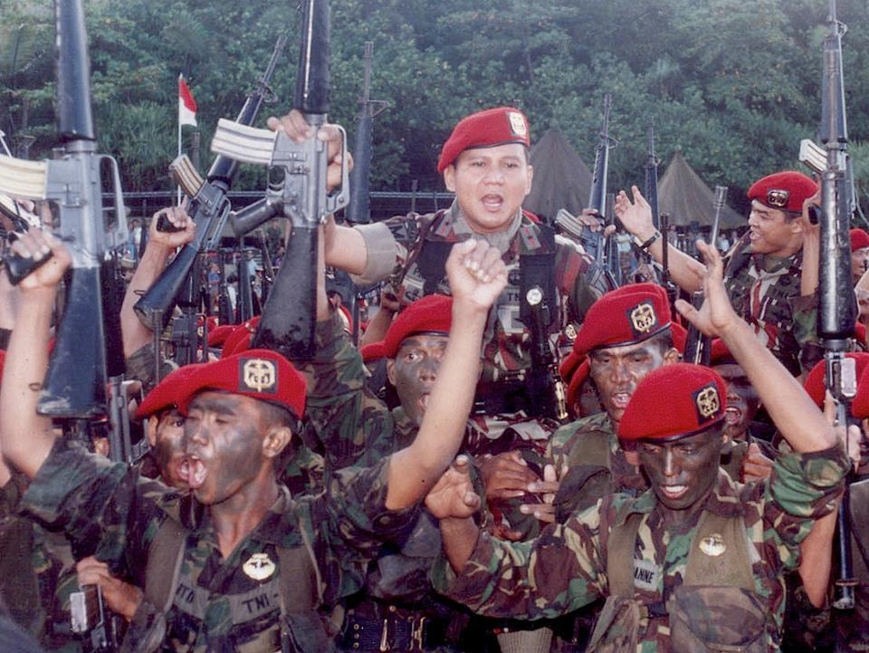 Prabowo Kopassus Tahun Indonesia Merdeka