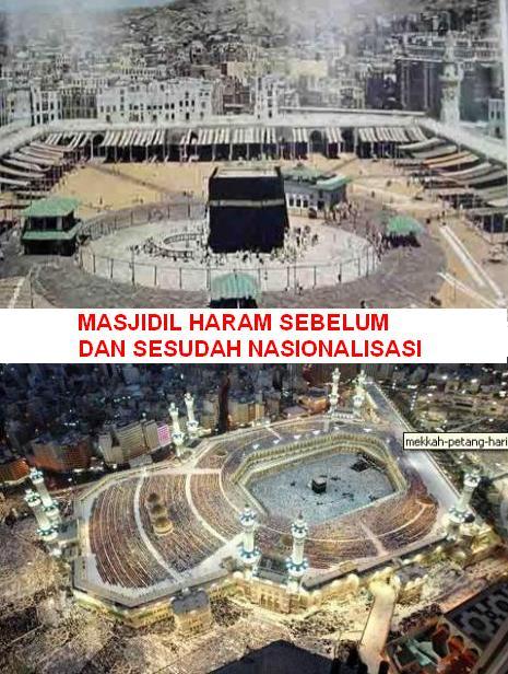 Masjidil Haram Sebelum Nasionalisasi