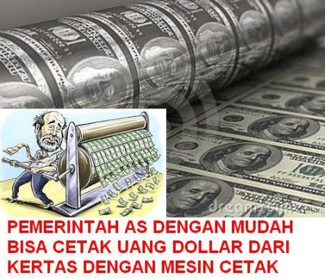 Cetak Uang Dollar