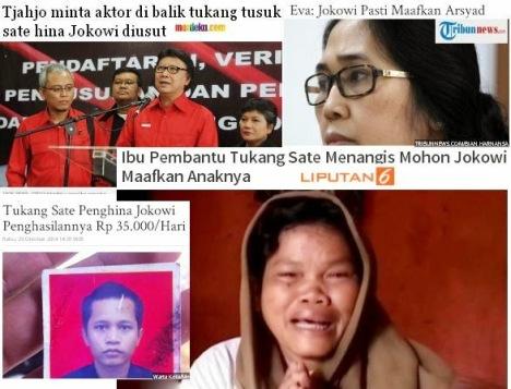 Jokowi VS Tukang Sate