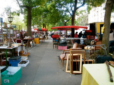 Pasar Jalanan di Paris